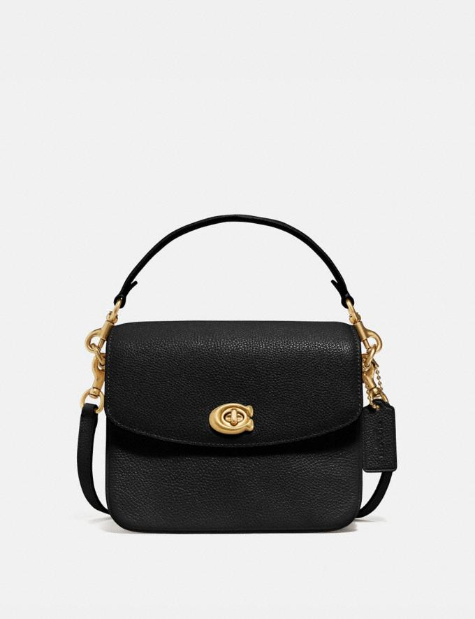Coach Cassie Crossbody 19 Brass/Black Women Bags Crossbody Bags