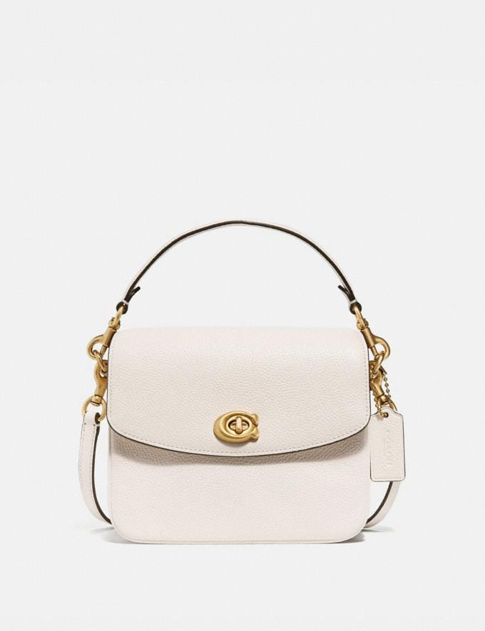 Coach Cassie Crossbody 19 Brass/Chalk Women Bags Crossbody Bags