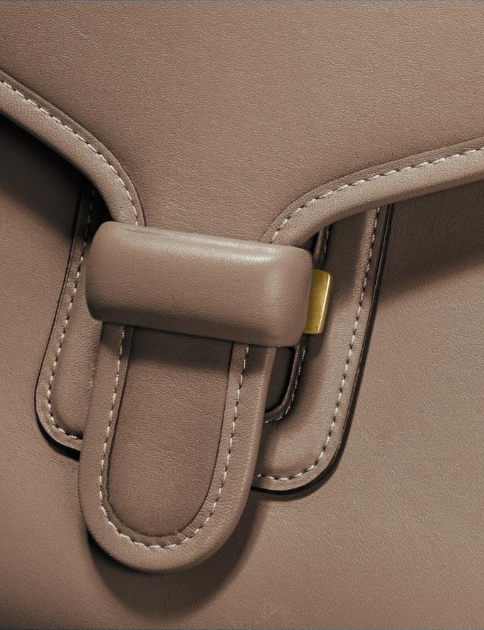 Coach Courier Carryall Brass/Elm Women Handbags Satchels & Top Handles Alternate View 5