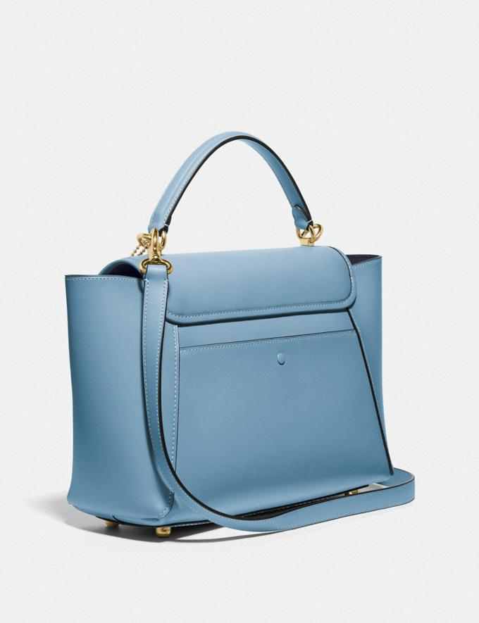 Coach Courier Carryall Brass/Pacific Blue New Featured The Coach Originals Alternate View 1