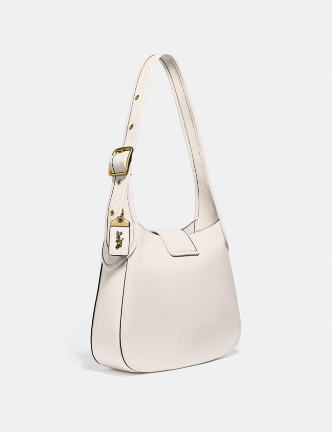Coach Courier Hobo Brass/Chalk  Alternate View 1