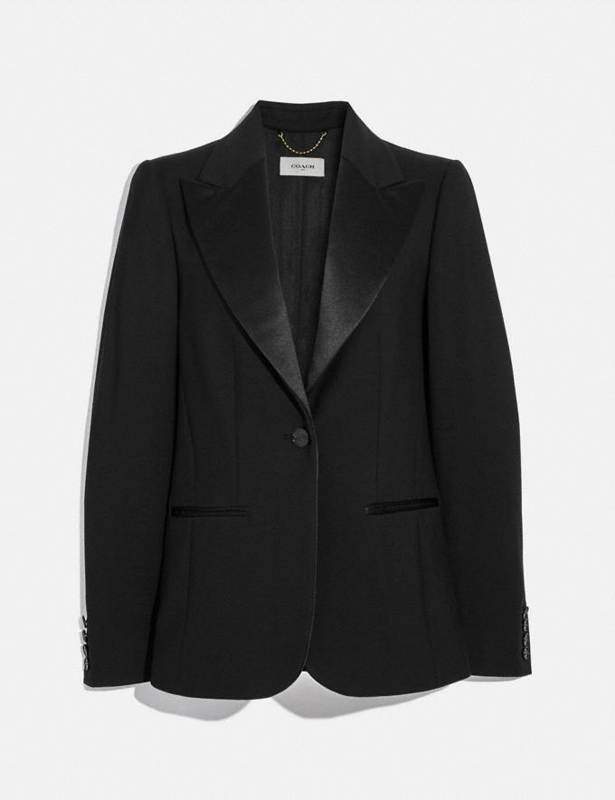 Coach Tailored Blazer Black Women Ready-to-Wear Jackets & Outerwear