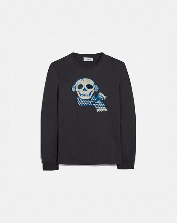 Coach BONESY LONG SLEEVE T-SHIRT