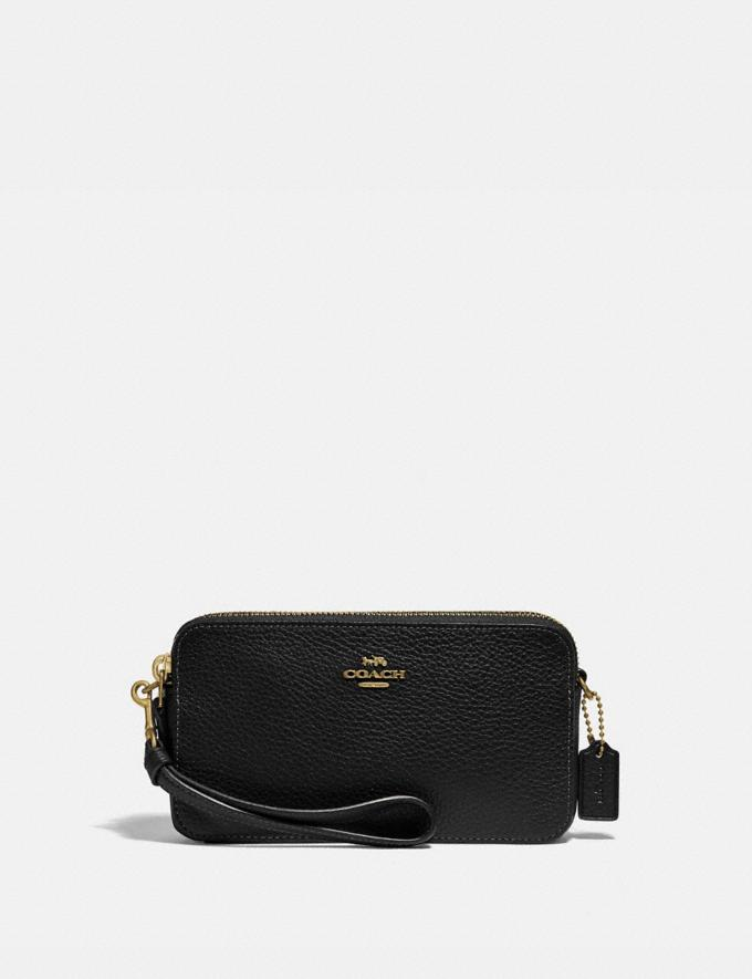 Coach Kira Crossbody B4/Black Women Accessories