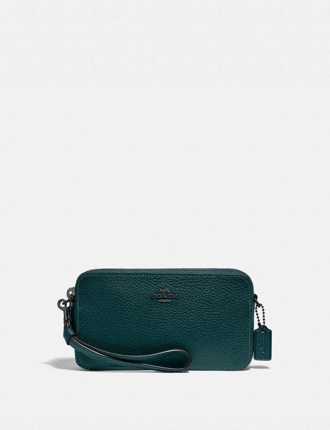 Coach Kira Crossbody Pewter/Forest Gift For Her Under €250