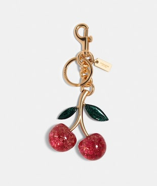 SIGNATURE CHERRY BAG CHARM