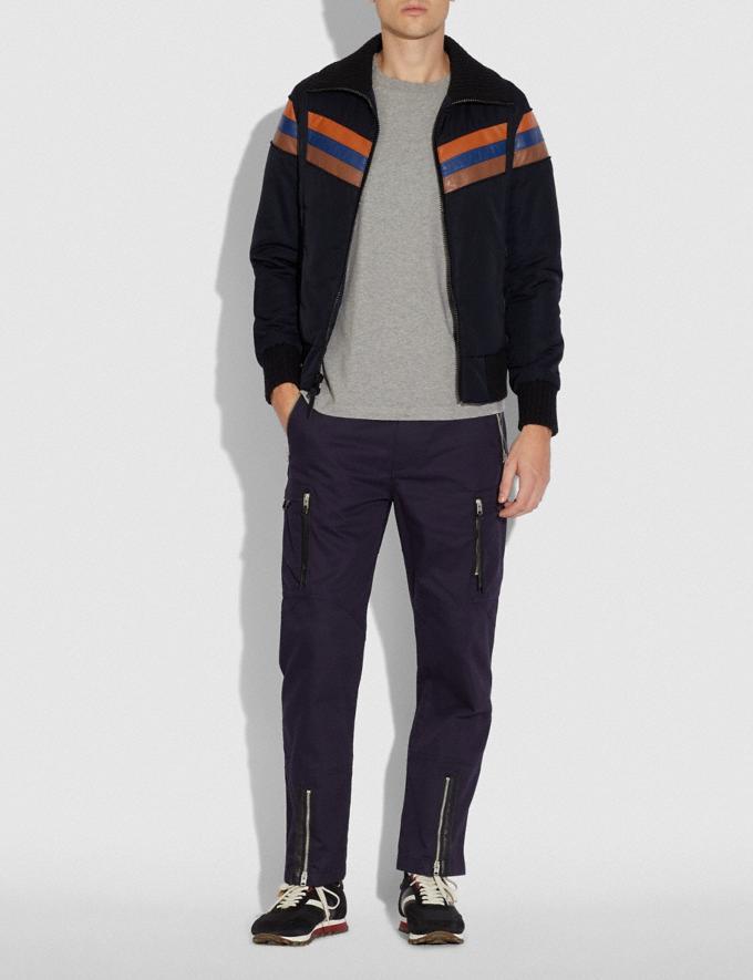 Coach Ski Jacket Blue New Men's New Arrivals Collection Alternate View 1