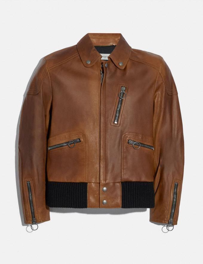 Coach Leather Biker Jacket Doe SALE 30% off Select Full-Price Styles Men's