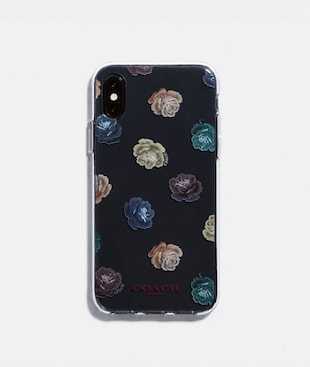 IPHONE X/XS CASE WITH ROSE PRINT