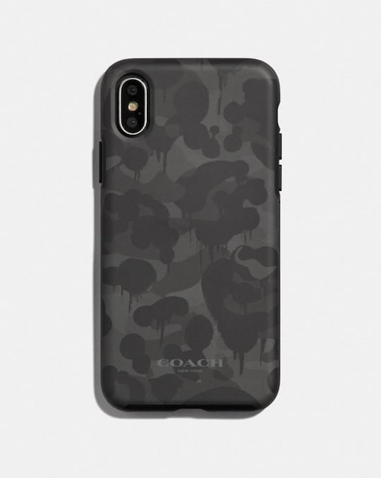 IPHONE X/XS CASE WITH CAMO PRINT