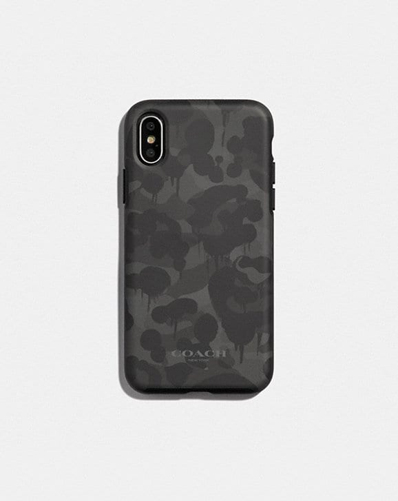 Coach IPHONE X/XS CASE WITH WILD BEAST PRINT
