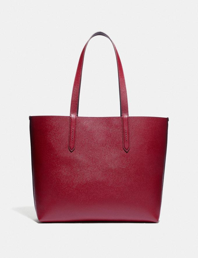 Coach Highline Tote With Rexy and Carriage Brass/Deep Red Multi Women Handbags Diaper Bags Alternate View 2