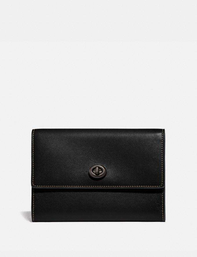 Coach Pouch Black New Men's New Arrivals Accessories