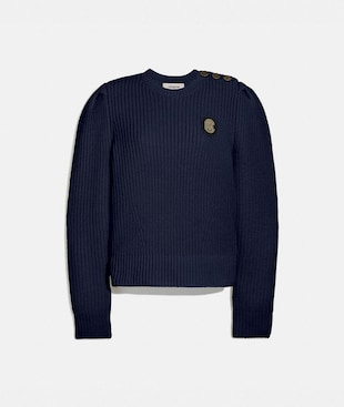 FULL SLEEVE CREWNECK SWEATER