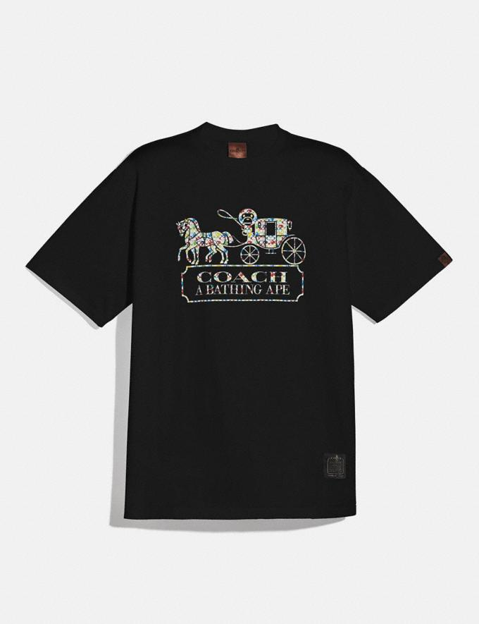 Coach Bape X Coach T-Shirt Black