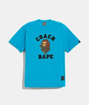 T-SHIRT BAPE X COACH