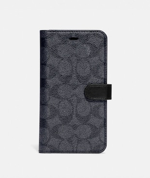 IPHONE 11 FOLIO IN SIGNATURE CANVAS