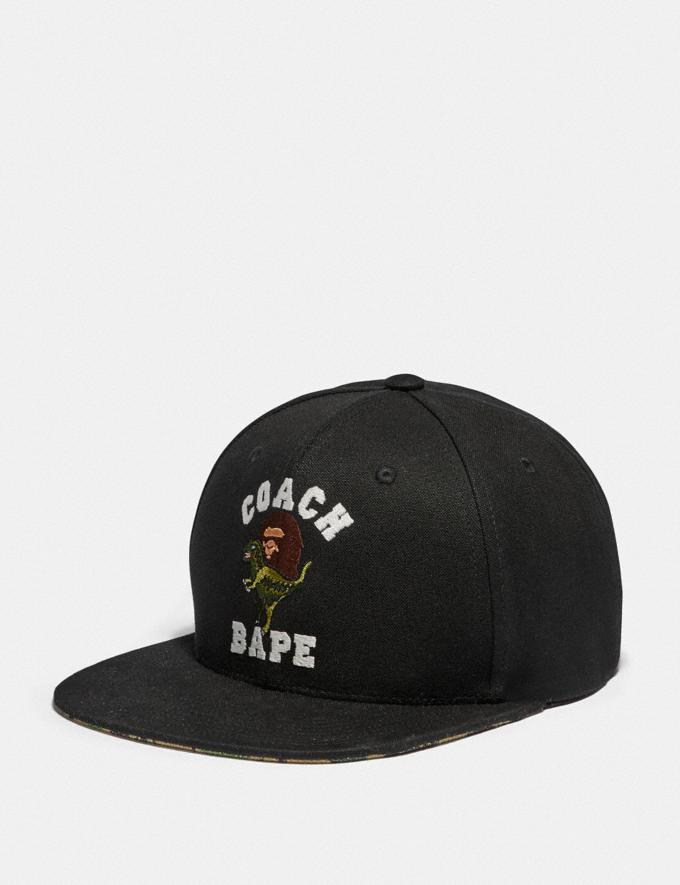 Coach Bape X Coach Baseballkappe Military-Muster, Mehrfarbig Herren Kleidung Schals & Handschuhe