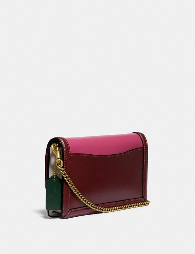 Coach Hutton Clutch in Colorblock Brass/Chalk Multi Gifts For Her Alternate View 1