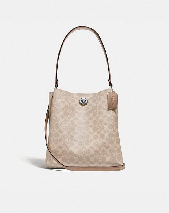 Coach CHARLIE BUCKET BAG IN SIGNATURE CANVAS