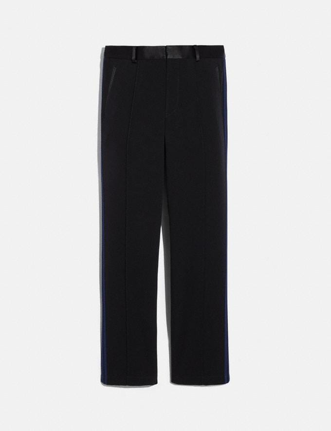 Coach Elevated Track Pants Black/Navy Men Ready-to-Wear Tops & Bottoms