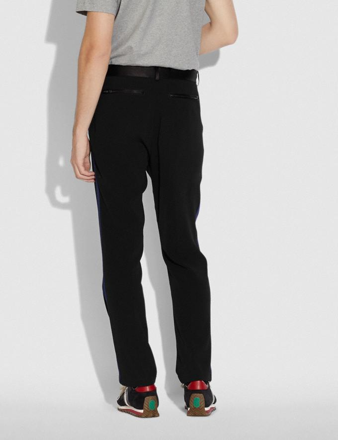 Coach Elevated Track Pants Black/Navy Men Ready-to-Wear Tops & Bottoms Alternate View 2