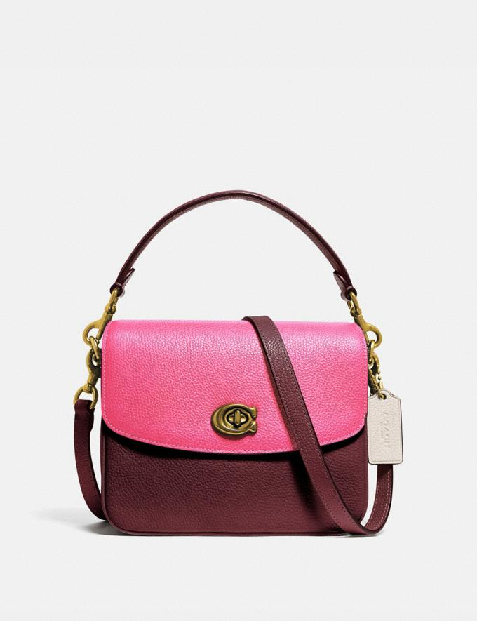 Coach Cassie Crossbody 19 in Colorblock B4/Confetti Pink Multi Women Bags Crossbody Bags