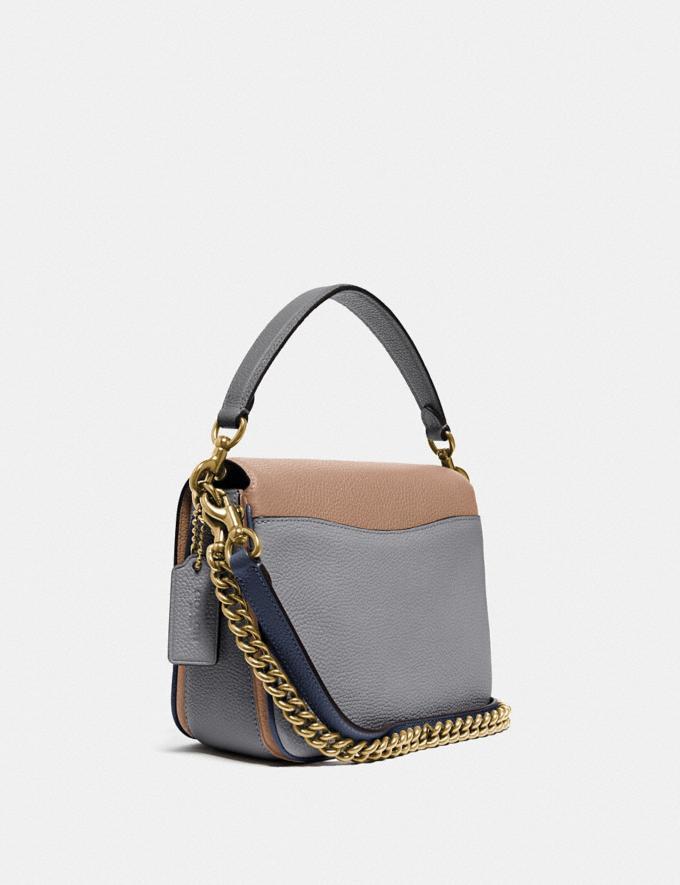 Coach Cassie Crossbody 19 in Colorblock Brass/Taupe Granite Multi Women Bags Crossbody Bags Alternate View 1