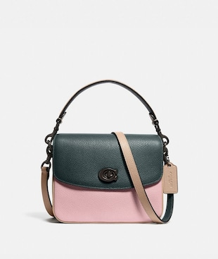 SAC BANDOULIÈRE CASSIE 19 EN COLOR-BLOCK