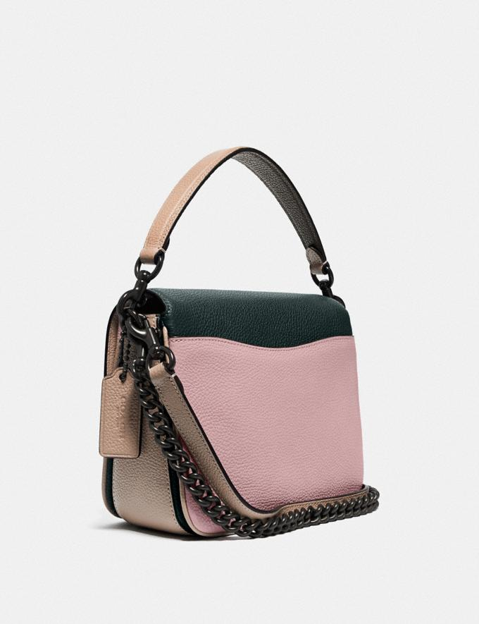 Coach Cassie Crossbody 19 in Colorblock Pewter/Pine Green Aurora Multi Women Bags Crossbody Bags Alternate View 1