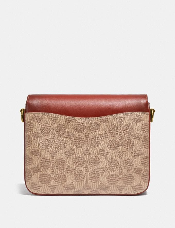 Coach Cassie Crossbody 19 in Signature Canvas Brass/Tan Rust Women Bags Crossbody Bags Alternate View 2