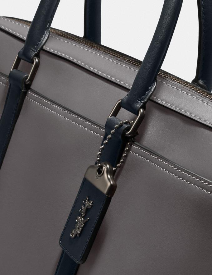 Coach Metropolitan Slim Brief Black Copper/Heather Grey/Midnight Navy Gifts For Him Bestsellers Alternate View 4