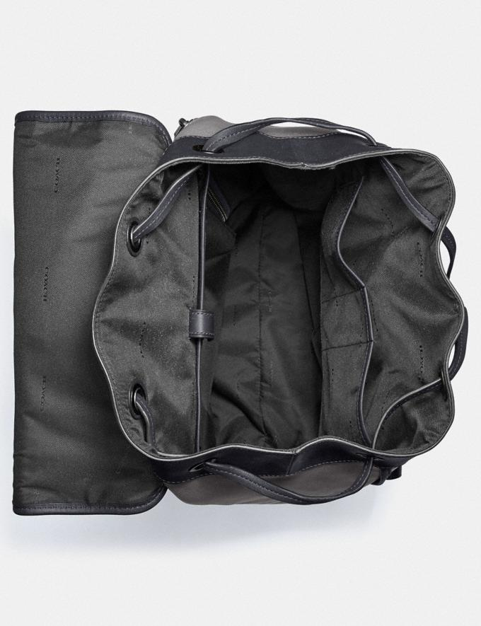 Coach Bleecker Backpack Black Copper/Heather Grey/Midnight Navy New Men's New Arrivals View All Alternate View 2