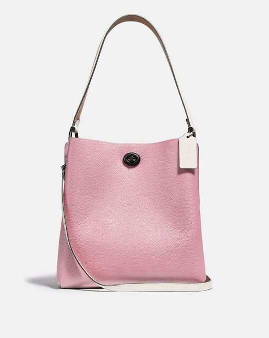 CHARLIE BUCKET BAG IN COLORBLOCK