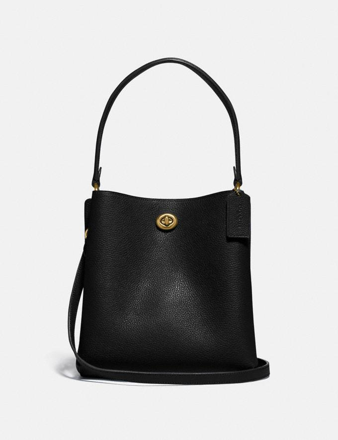 Coach Charlie Bucket Bag 21 Brass/Black Gifts For Her