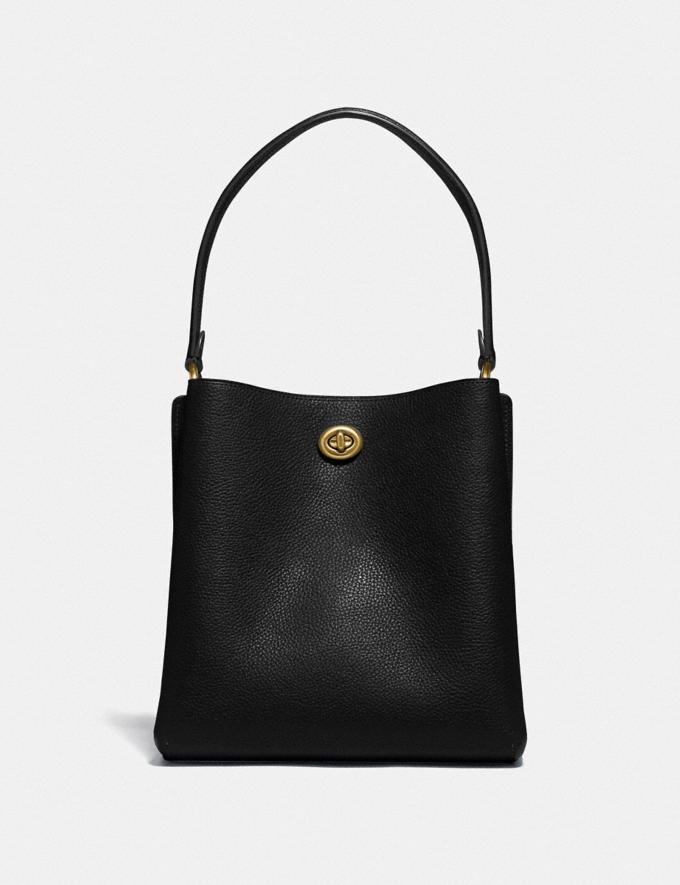 Coach Charlie Bucket Bag 21 Brass/Black Gifts For Her Alternate View 2