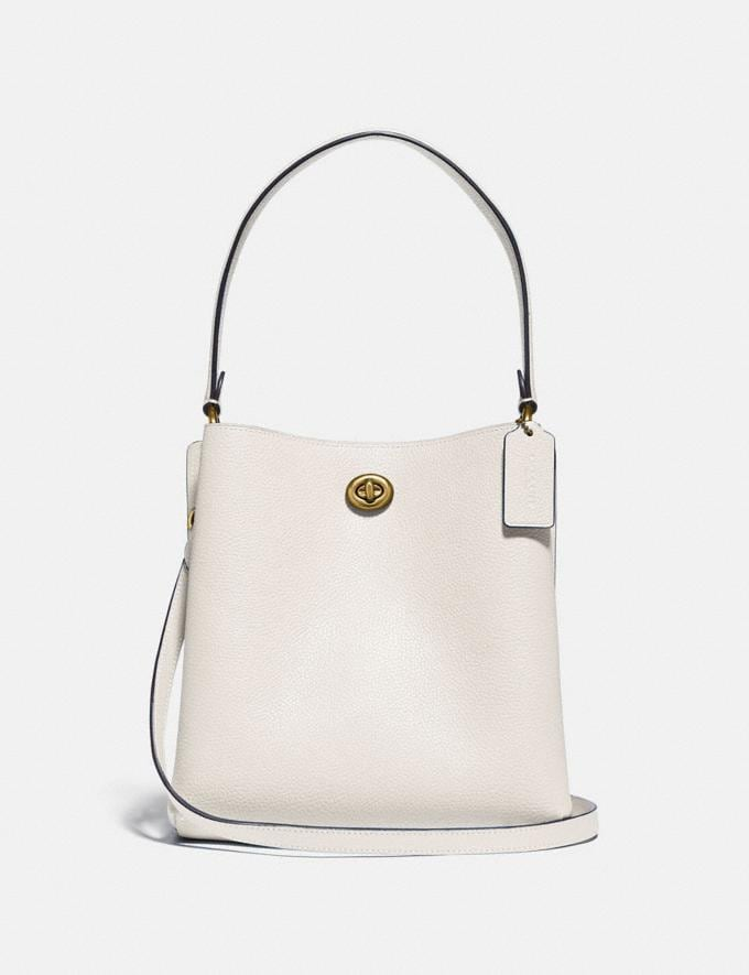 Coach Charlie Bucket Bag 21 Brass/Chalk Women Collection Charlie