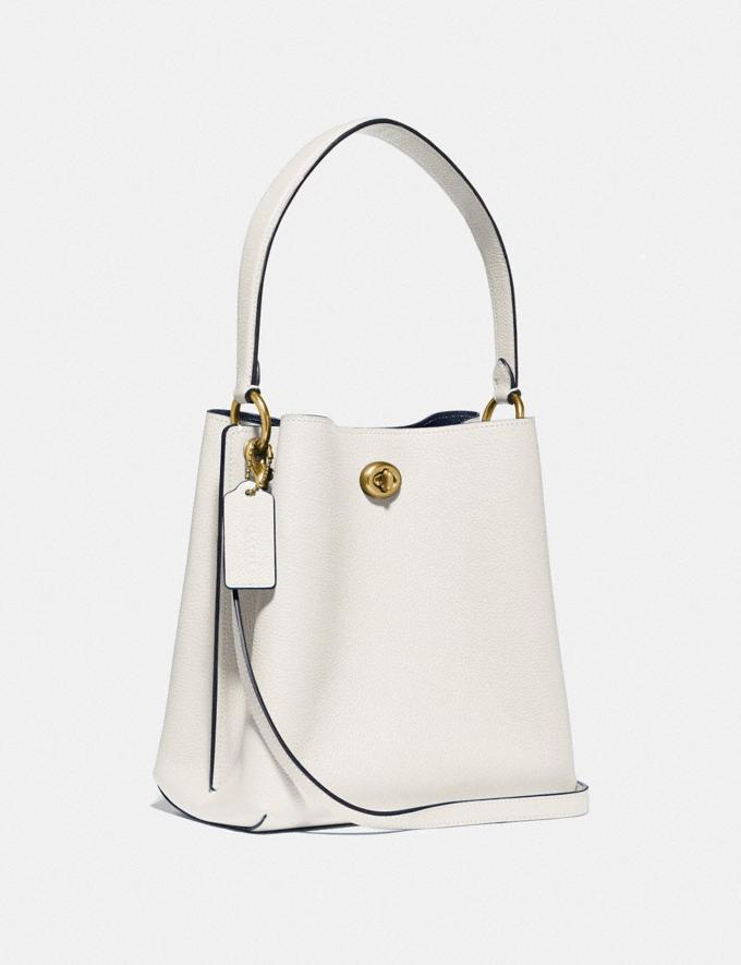 Coach Charlie Bucket Bag 21 Brass/Chalk Gifts For Her Alternate View 1
