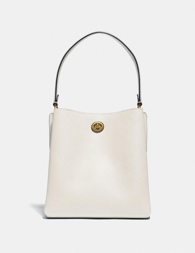 Coach Charlie Bucket Bag 21 Brass/Chalk Gifts For Her Alternate View 2