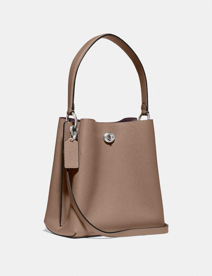 Coach Charlie Bucket Bag 21 Lh/Taupe New Women's New Arrivals Alternate View 1