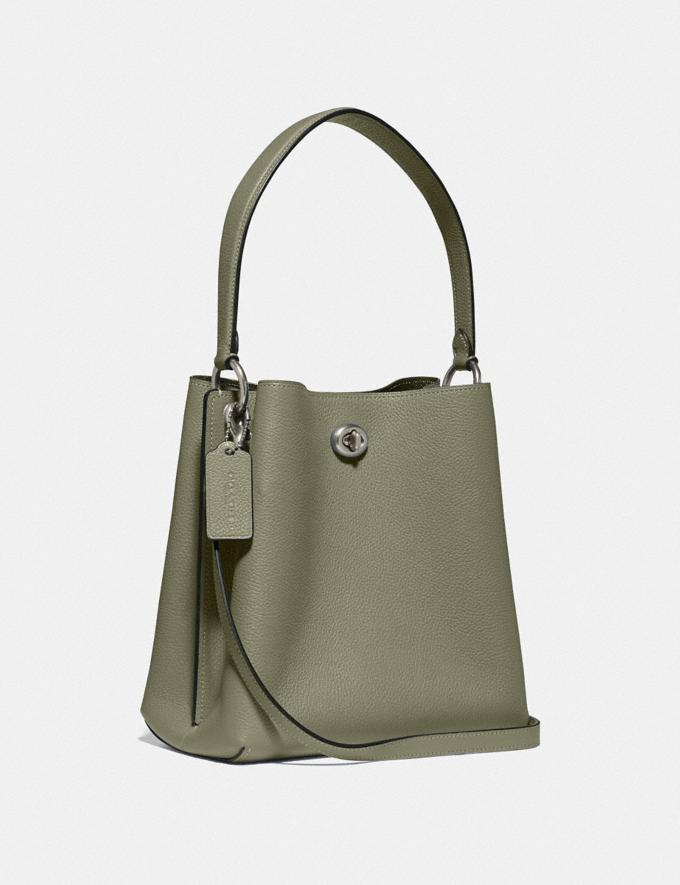 Coach Charlie Bucket Bag 21 V5/Light Fern New Women's New Arrivals Alternate View 1