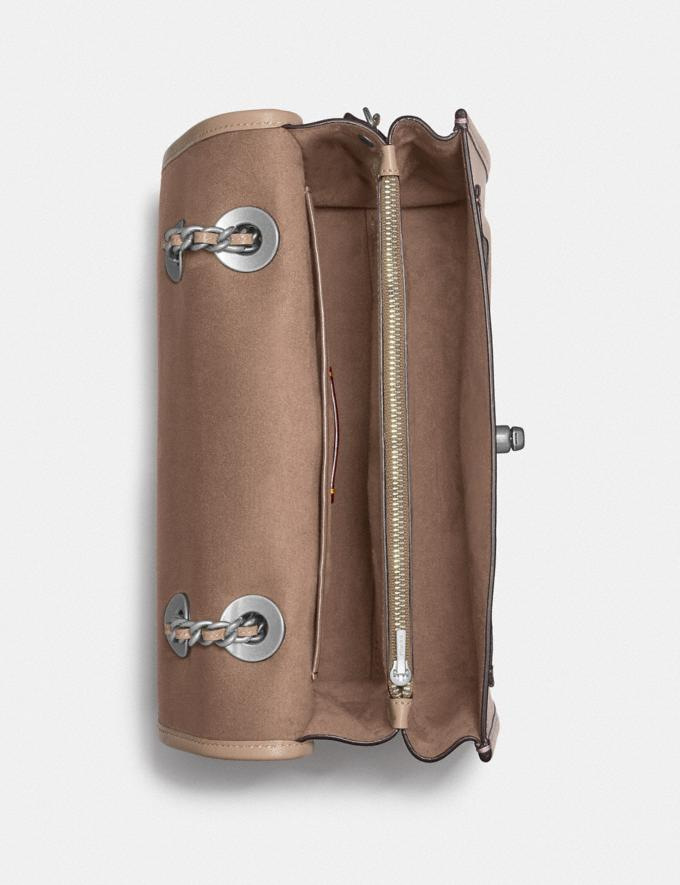Coach Parker With Signature Canvas Light Nickel/Sand Taupe Gifts For Her Under $500 Alternate View 3
