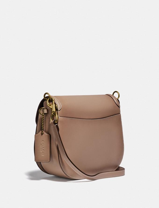 Coach Kat Saddle Bag 20 B4/Taupe Women Bags Crossbody Bags Alternate View 1