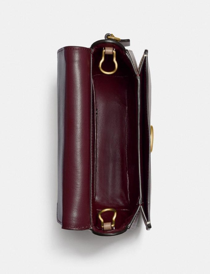 Coach Kat Saddle Bag 20 B4/Taupe Women Bags Crossbody Bags Alternate View 2