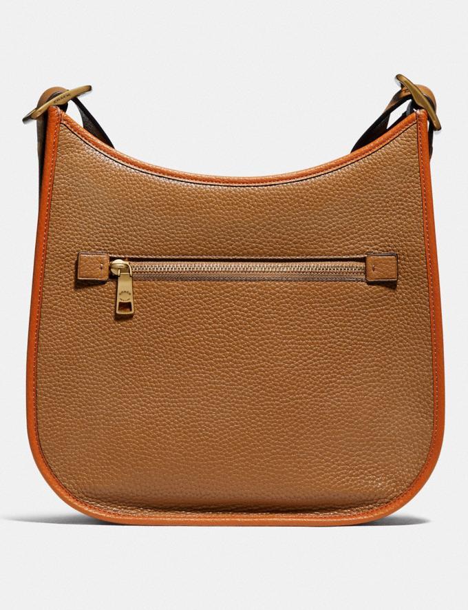 Coach Emery Crossbody in Colorblock Brass/Light Saddle Elm Women Handbags Crossbody Bags Alternate View 2