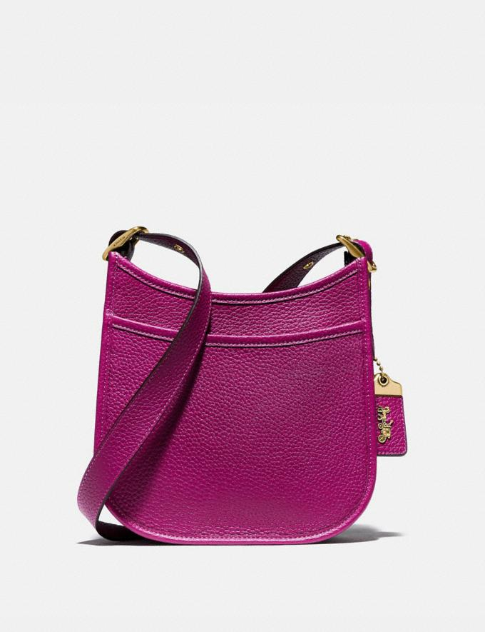 Coach Emery Crossbody 21 Brass/Hibiscus New Women's New Arrivals Collection