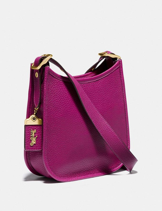 Coach Emery Crossbody 21 Brass/Hibiscus New Women's New Arrivals Collection Alternate View 1