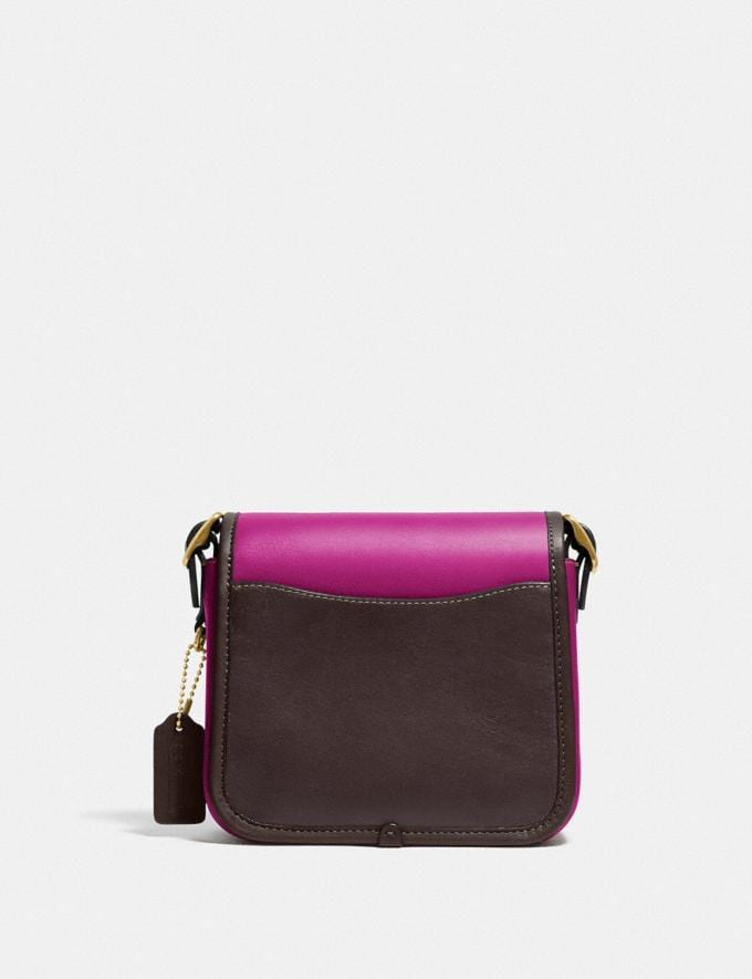 Coach Rambler Crossbody 16 in Colorblock B4/Hibiscus Multi New Women's New Arrivals Collection Alternate View 2