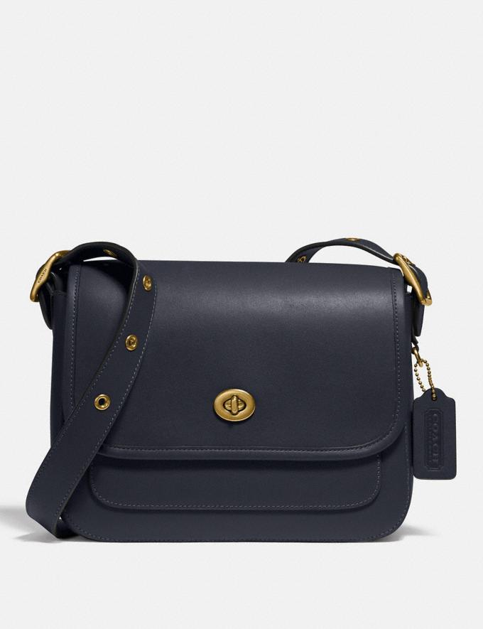 Coach Rambler Crossbody Brass/Midnight Navy New Featured 30% off (and more)