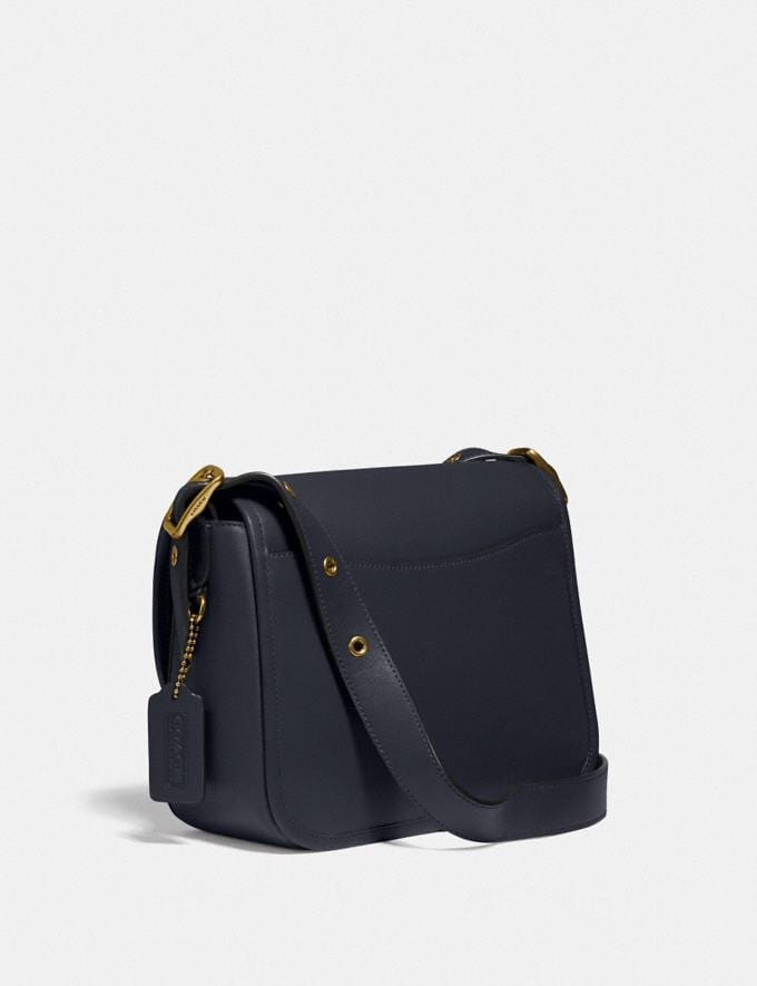 Coach Rambler Crossbody Brass/Midnight Navy New Featured 30% off (and more) Alternate View 1